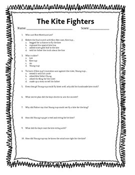 Kite Fighter Questions