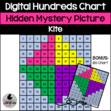 Kite Hundreds and 120 Chart Hidden Picture Activity for Spring and Summer Math