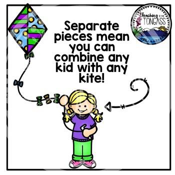 Kite Clipart (Spring Clipart)