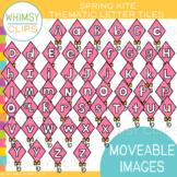 Kite Letter Tiles Clip Art { MOVEABLE IMAGES }