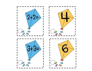 Kite Math Activities Pack (Great for Literacy Stations!)