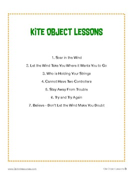Kite Object Lessons
