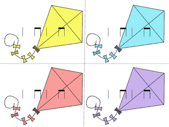 Kite Races--a rhythm game to practice ta and titi