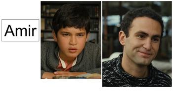 Kite Runner Movie Characters for White Board