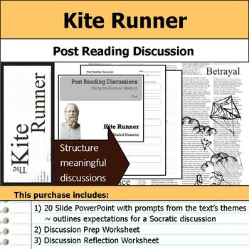 Kite Runner - Socratic Method - Post Reading Discussions