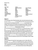 Kite Runner Worksheets and Discussion