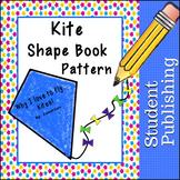 Kite Shape Book Pattern