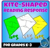 Kite Shaped Reading Response for Any Book Grades K-3