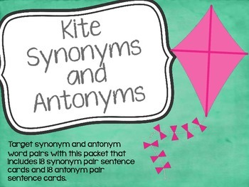 Kite Synonyms and Antonyms