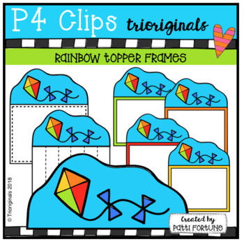 Kite TOPPERS (P4 Clips Trioriginals)