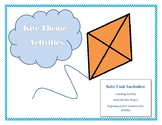 Kite Theme Unit including art, math and phonics activities