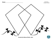 Kite-Themed Compare/Contrast Venn Diagram
