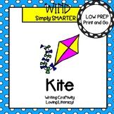 Kite Writing Cut and Paste Craftivity