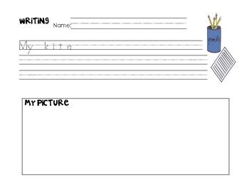 Kite Writing Prompt-Spring