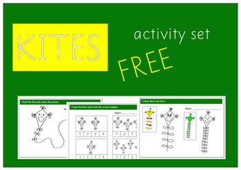 Kite activities for pre-school kids