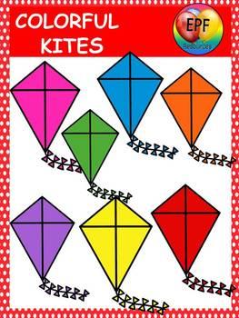 Kite clip art (FREE)