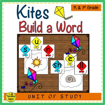 Kites Build a CVC Word