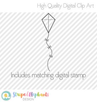 Kites Clip Art