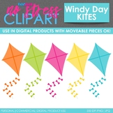 Kites Clip Art (Digital Use Ok!)