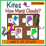 Kites Counting Games: How Many Clouds?