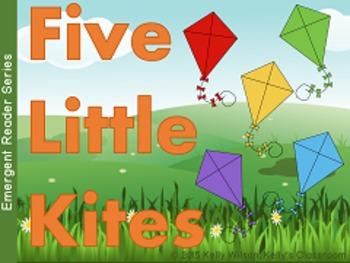 Five Little Kites Emergent Reader BUNDLE