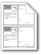 Kites (Grade 2 Daily Word Problems-Week 12)