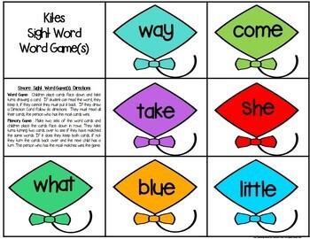 Kites Literacy Centers