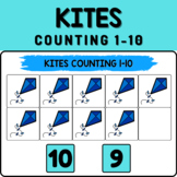 Kites Math Boom Cards - Counting 1-10