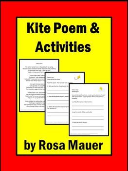 Kites Poem and Literacy Activities