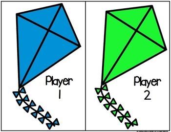 Kites Sight Word Match Game