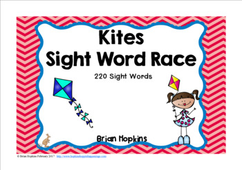 Kites Sight Word Race