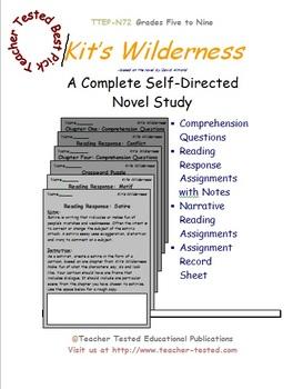 Kit's Wilderness: A Complete Novel Study
