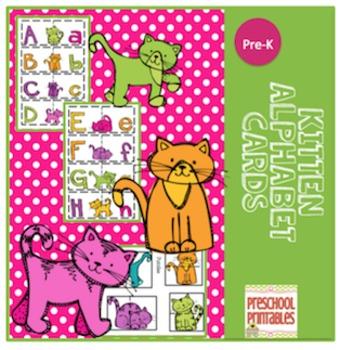 Kitten Alphabet Cards