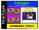 Kitten - Expandable & Editable Strip Puzzle w/ Multiple Op