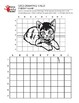 Kitten II Grid Drawing Worksheet for Middle/High Grades