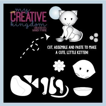 Kitten in the Moon Light Craft