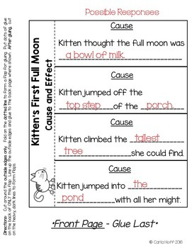 Kitten's First Full Moon  - Common Core Connections - Treasures Grade 1