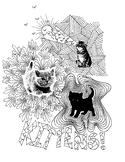 Kittens Coloring Sheet