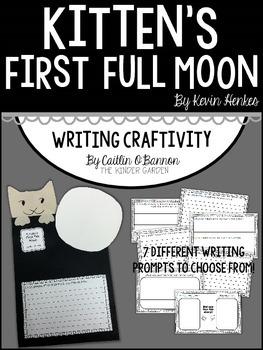 Kitten's First Full Moon Writing Craftivity
