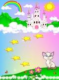 Kitty Behavior Rewards Chart for Kids