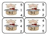 Kitty Cat  Addition Clip Card Math Center