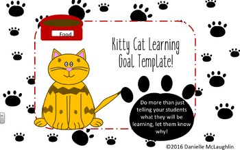 Kitty Cat Learning Goals