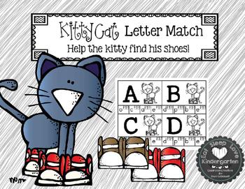Kitty Cat Letter Match