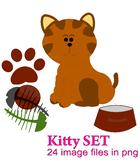 Kitty Cats Clipart