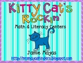 Kitty Cat's Rockin' Math & Literacy Centers