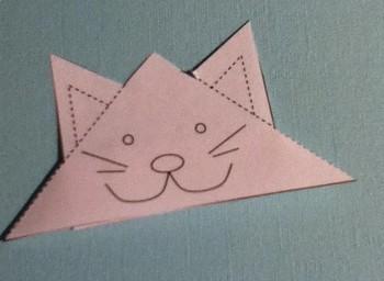 Kitty Corner Bookmark