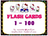 Kitty Flas Card Numbers 1-100
