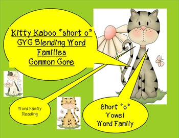 "Kitty Kaboo ""short o"" CVC Words"