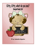 Emergent Reader Unit - Kitty, Kitty, what do you see? (Mini book)