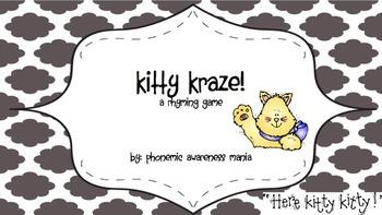 Kitty Kraze Rhyming Game